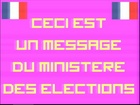 Les Messages du Ministère - Spécial elections - le parti de la droite