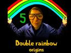 Double rainbow origins - Dead or vivant